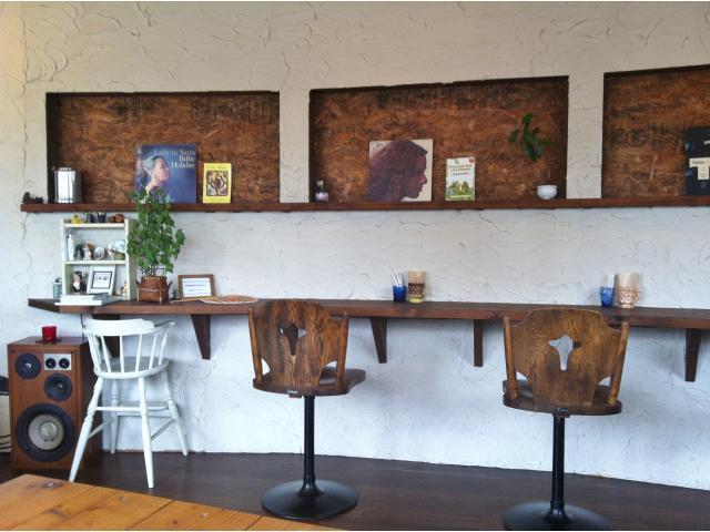 サンプル:新宿カフェ